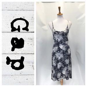 Gap tropical print dress